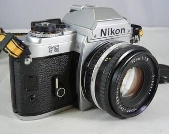 Nikon FG 35mm Camera with Nikon Series E 50mm f/1.8