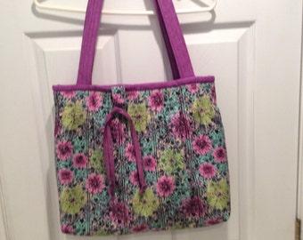 Beautiful handmade tote or diaper bag