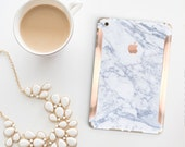 Platinum Edition Makrana White Marble with Rose Gold/Copper Detailing Vinyl Skin for the iPad Air 2, iPad mini 4 , iPad Pro
