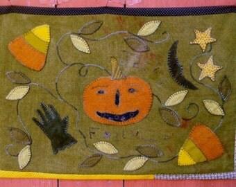 Wool Applique Pattern - Jack's Folly