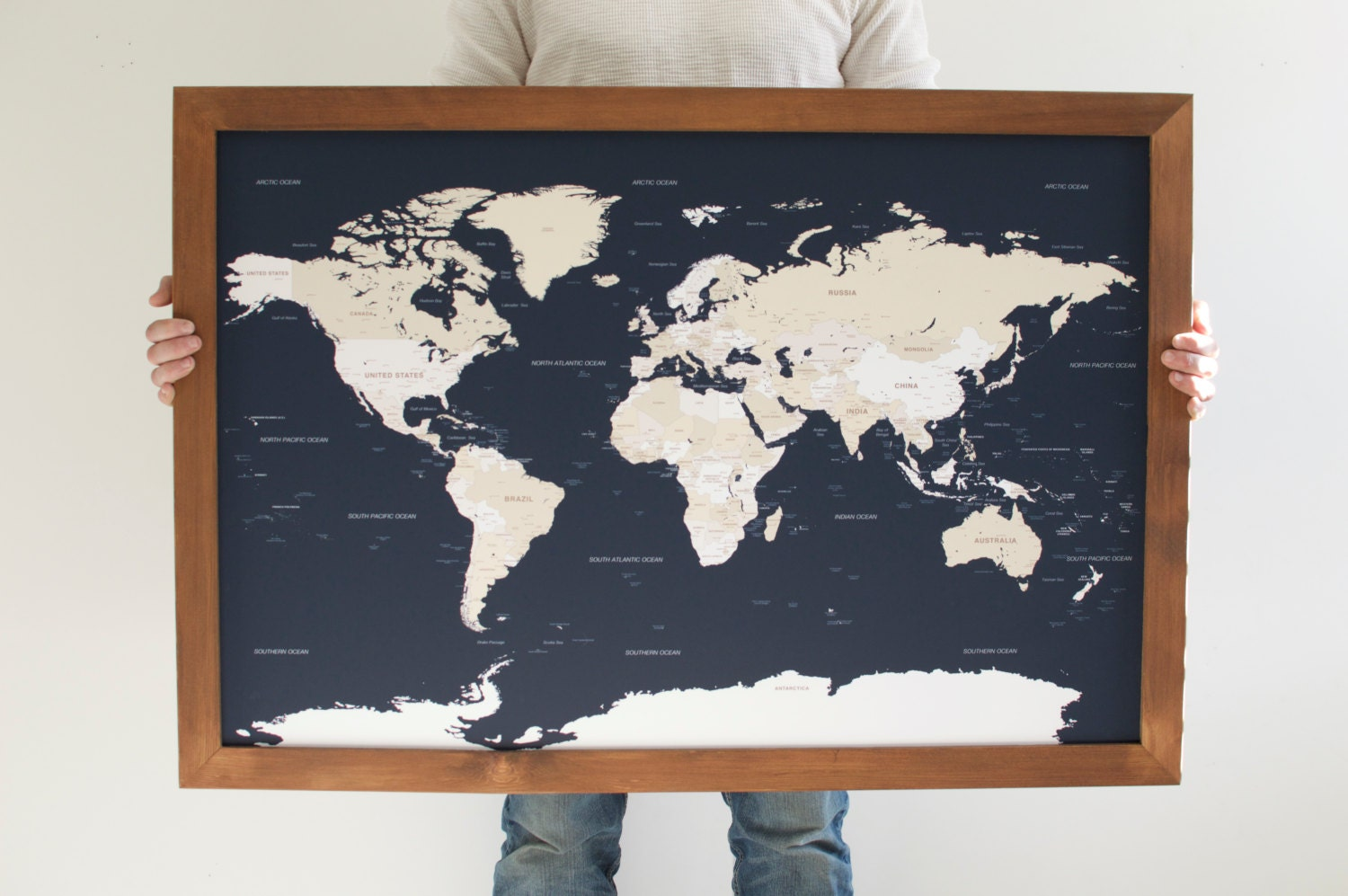 push pin travel map world map framed world map navy blue map world map wedding world push pin map 24x36 christmas gifts for men
