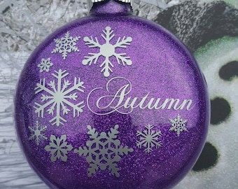 2017 Personalized Christmas Tree Ornament