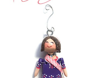 Name Your Birthday Girl (Ornament) - 2