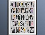 Harry Potter Pixel People Alphabet Cross Stitch Pattern PDF/Instant Download