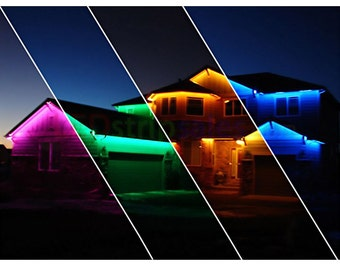 82 ft RGB 5050 Outside LED Strip Light Kit IP65