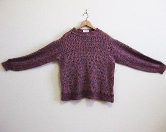 Rose Mohair Sweater Small Medium