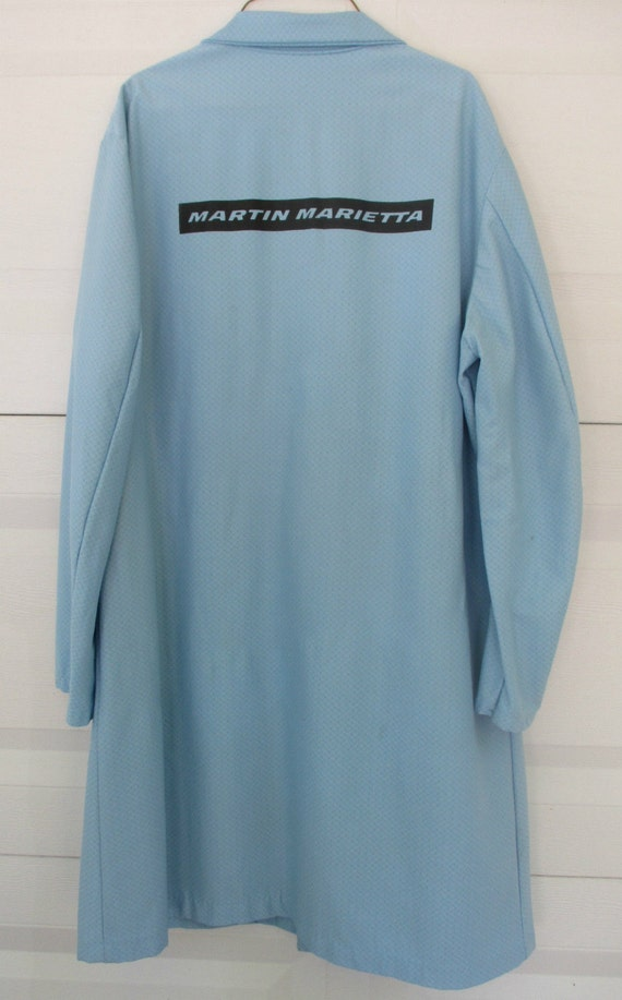 Authentic 1970s Martin Marietta Lab Coat Orlando Nasa Space
