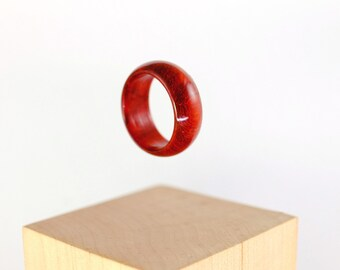 Padouk wooden ring