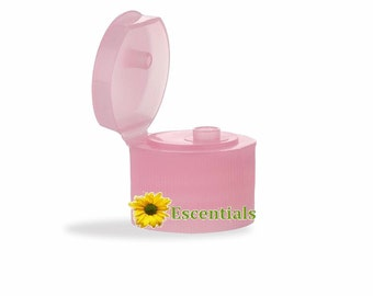 Pink 24/410 Flip Top Dispensing Cap - 10 Pack