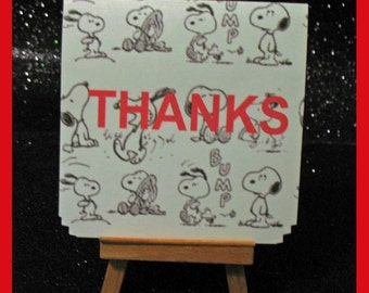 Snoopy notes, Snoopy invitations cards , Snoopy thank you card package of 10