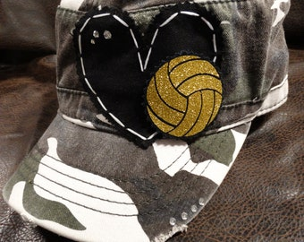Water Polo LOVE Camo Cadet Hat