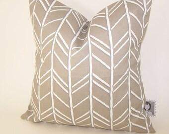 Beige Outdoor Pillow -  Tan PILLOW - Outdoor - Various Sizes - Vine - Nautical - Seashore - Cove - Accent Pillow - 20x20,18x18,22x22