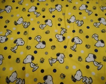Snoopy and Woodstock Pillowcase
