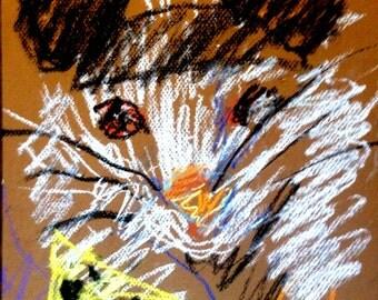 Original Pastel Sketch from Artisan - Rat Park