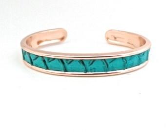Crocs green way Bangle Bracelet