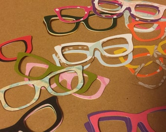 Glasses Die Cuts