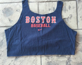 Boston Red Socks Crop Tank