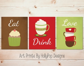 Tea Wall Art Etsy