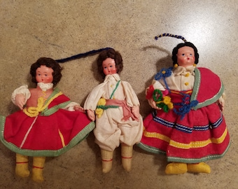 Vintage Eros Doll Collection Italian Greek