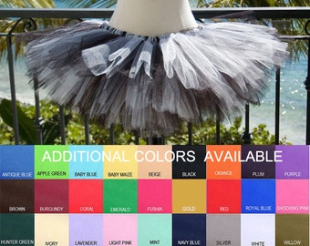 Adult Tutu, Multi Custom Colors