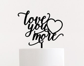 """Shop """"love you more"""" in Paper & Party Supplies"""
