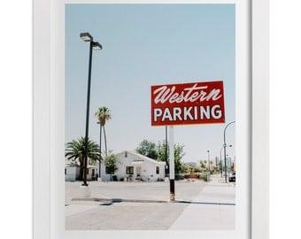 Old Vegas Art Print, Las Vegas Photography, Mid Century Home Decor, Retro Vegas Print, Las Vegas Gift, Large Wall Art, Custom Size Print