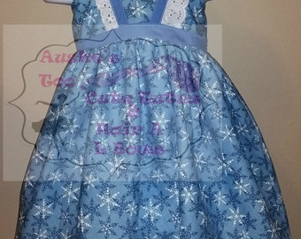 Winter Wonderland Loretta dress- Size 4T