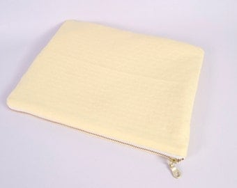 Buttercup Yellow Tablet Case and Travel Pouch