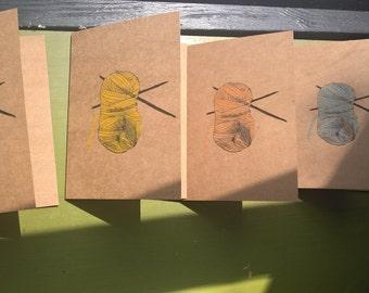 Yarn Skein Cards
