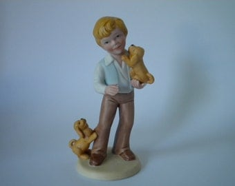 Best Friends Collectible Figurine Exclusively Crafted by Avon 1981