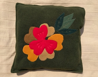 Bouquet (green background)
