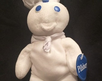 Pillsbury Dough Boy stuffed doll