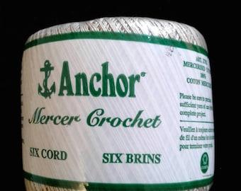 Anchor Mercer Crochet Cotton Thread Size 40 ECRU