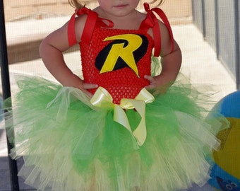 Robin inspired Tutu dress