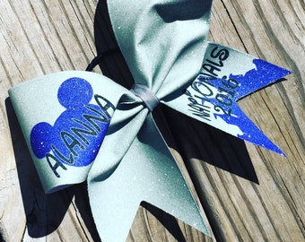 Personalized bow, add you name,pick your colors.