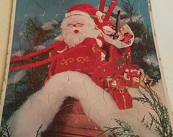 Vintage Christmas Puzzle
