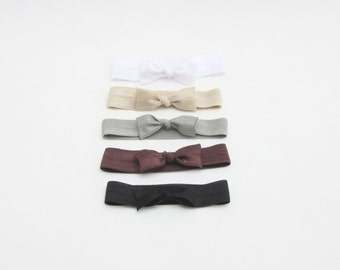 Hair Ties For Natural Hair - Neutrals - Hair Ties - Set of 5