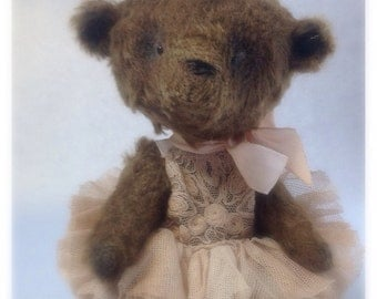 OOAK! artist bear, little bear Princess ballerina.