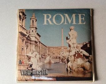 View Master 3D Reel Set - ROME - Collector Grade