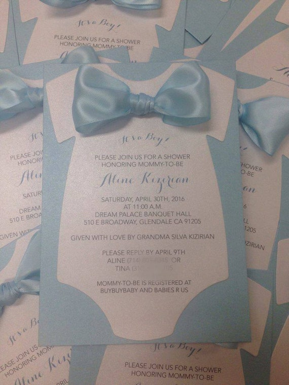 baby shower invitation onesie invitation baby by placeofevents