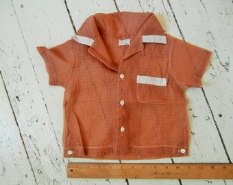 Vintage, Tiny Child/Baby Shirt, Handi Panti Nylon Topper, By Alexis,  Large Doll Clothes, Free Shipping!