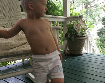 Baby Boy Boxers Personalized, Baby Boxers Name, Baby Boxers Monogrammed