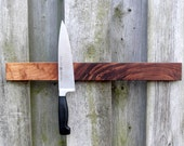 SALE 5 Dollar Shipping in North America *** IVAMIR Solid Walnut Wood 18 Inch Magnetic Knife & Tool Rack Made in Canad