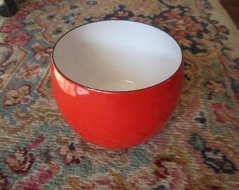 Vintage Red Dansk Enamel Nesting Bowl - Dansk Bowl - Jens Quistgaard France International IHO Dansk Cookware Enamel Bowl - Christmas in July