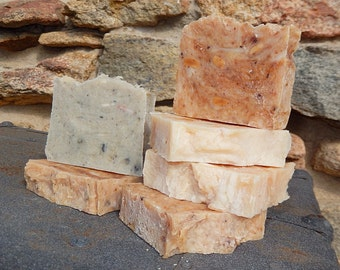 Bits and Pieces Soap - Discounted Soap - Affordable Soap - Rebatched Handmade Soap -