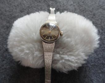 Vintage Jules Jurgensen Wind Up Ladies Watch