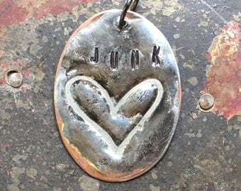Junk Love, Junk Pendant, HEART