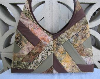 Multi color shoulder bag