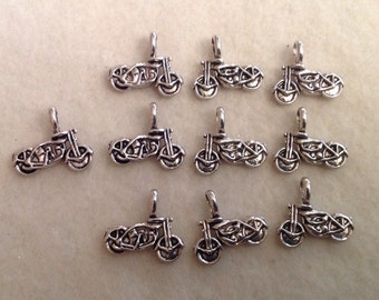 Motorcycle Charms / Double Sided (10)