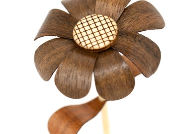 Wooden Flower - Individual Little Dukes - Walnut